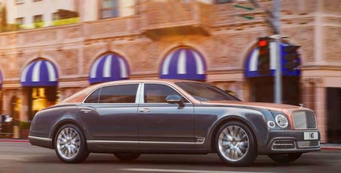Роскошный представительский седан Bentley Mulsanne.   Фото: bentleymotors.com.