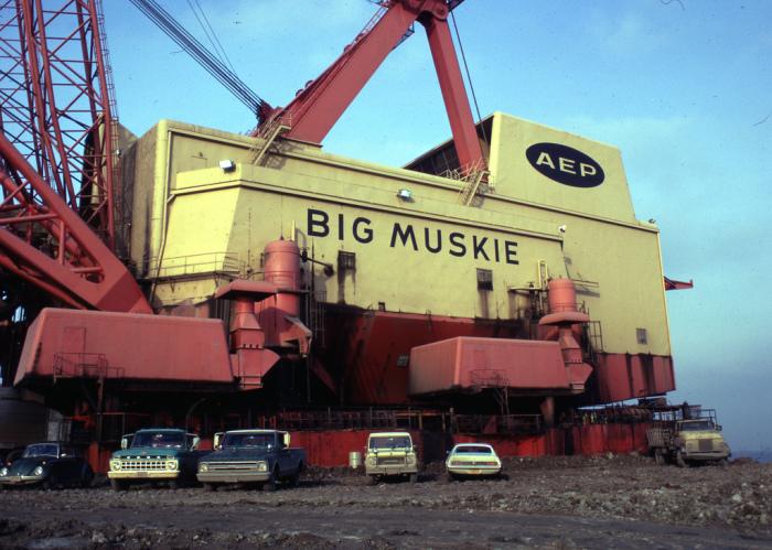 Big Muskie - американский экскаватор весом 13 000 тонн. Фото: flickr.com.