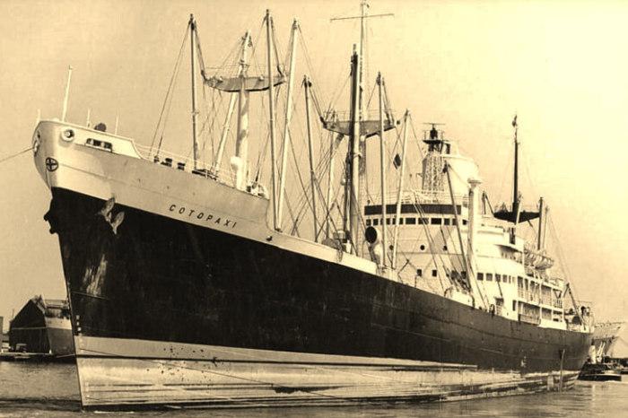 Американский пароход Cotopaxi, исчезнувший в Бермудском треугольнике. | Фото: 2drive.ru.