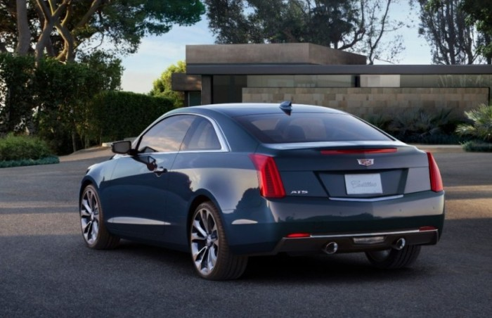 Cadillac ATS – машина для молодых.