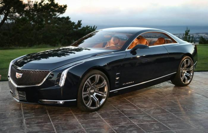 Концепт-кар Cadillac Elmiraj.