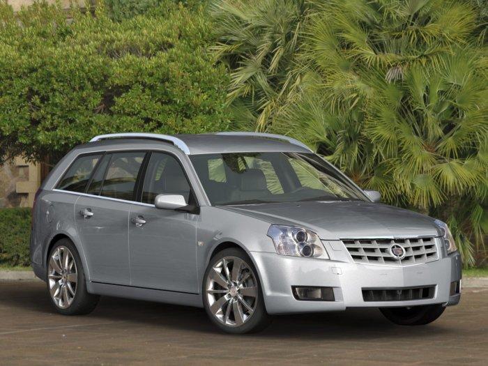 Очень редкая модель – универсал Cadillac BLS. | Фото: a2goos.com.