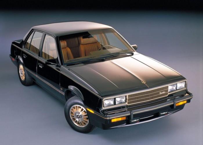 Cadillac Cimarron – автомобиль, призванный потеснить BMW.