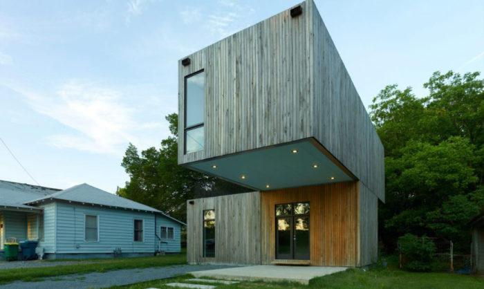 Домик площадью всего 12,5 квадратных метров.