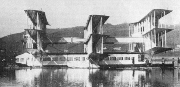 Caproni Ca.60 на озере Маджоре, 1921 год. | Фото: raravia.com.
