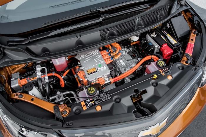 Электрическая силовая установка Chevrolet Bolt. | Фото:motortrend.com.