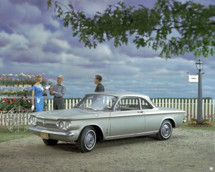 Chevrolet Corvair – «опасен на любой скорости».