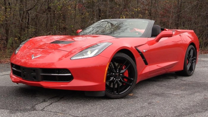 Chevrolet Corvette Stingray Z51 Convertible.
