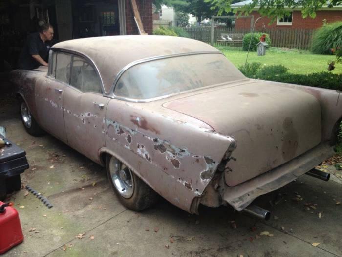 Автомобиль сорок лет простоял в гараже. | Фото: facebook.com.