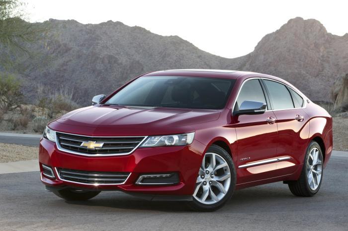 Новейшая модель седана Chevrolet Impala. | Фото: bycars.ru.