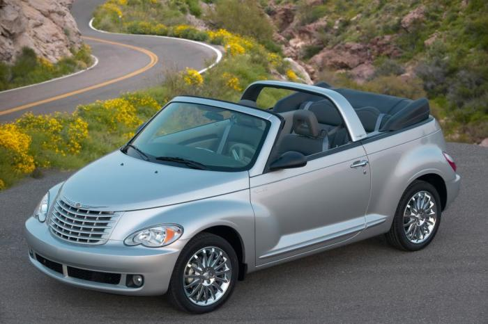 Ретро-кабриолет Chrysler PT Cruiser Convertible.
