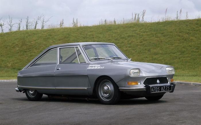 Французское купе Citroën M35 оснащалось двигателем Ванкеля и гидропневматической подвеской. | Фото: autocar.co.uk.