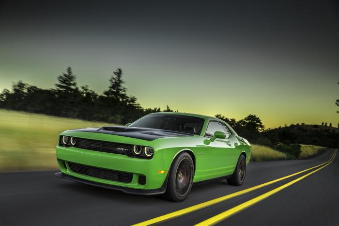 «Прокачанная» версия мускул-кара Dodge Challenger.