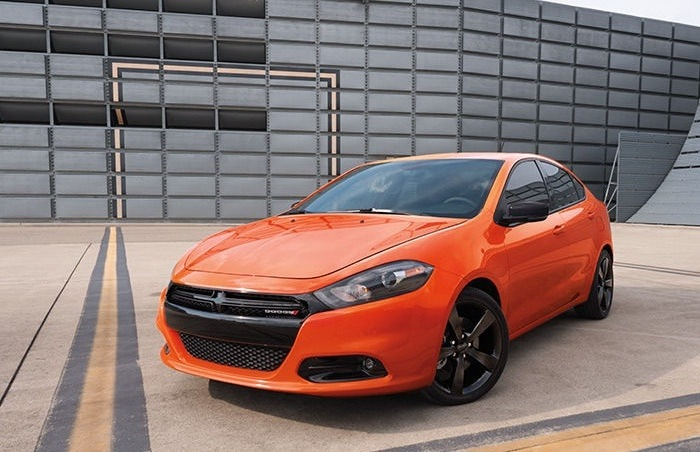 Переднеприводный седан Dodge Dart, построенный на платформе от Fiat. | Фото: cheatsheet.com.
