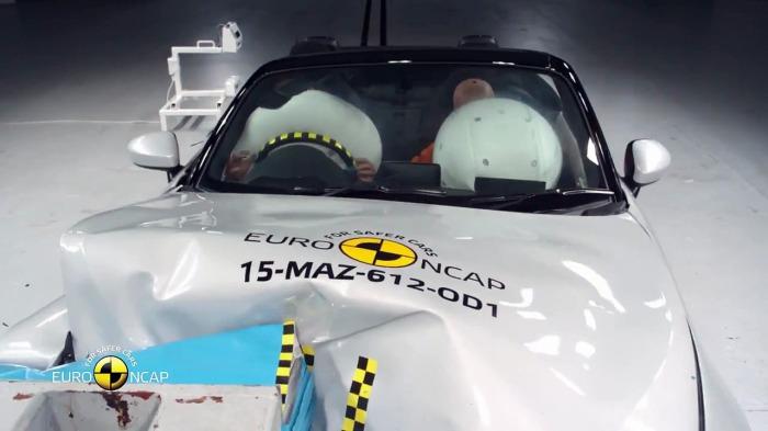 Mazda MX-5 – самый безопасный родстер.