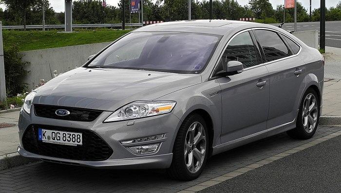 Ford Mondeo третьего поколения выпускался с 2007 по 2013 гг. | Фото: en.wikipedia.org.
