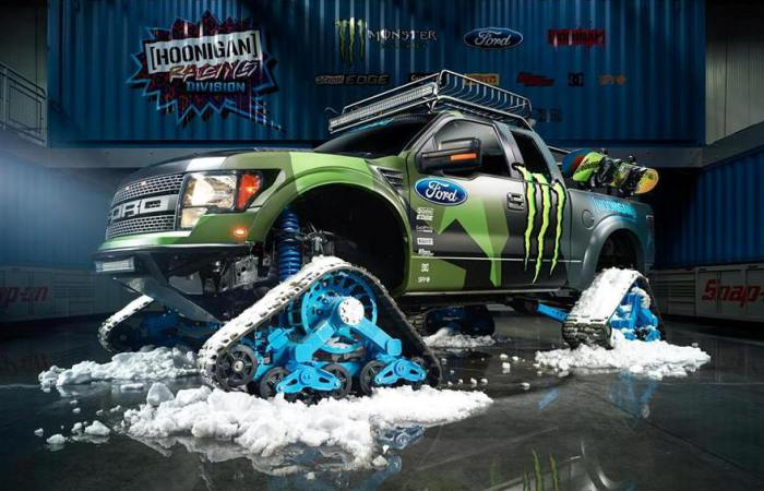 Ford RaptorTRAX американского гонщика Кена Блока.