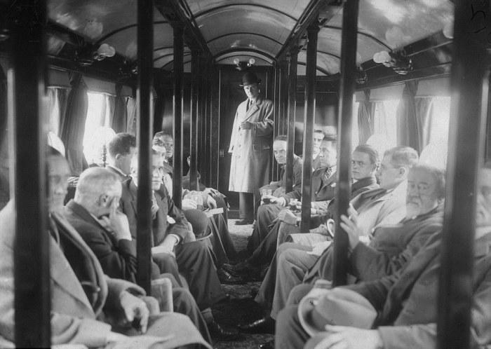 Пассажирам George Bennie Railplane предлагался комфорт, недостижимый на обычных поездах. | Фото: dailymail.co.uk.