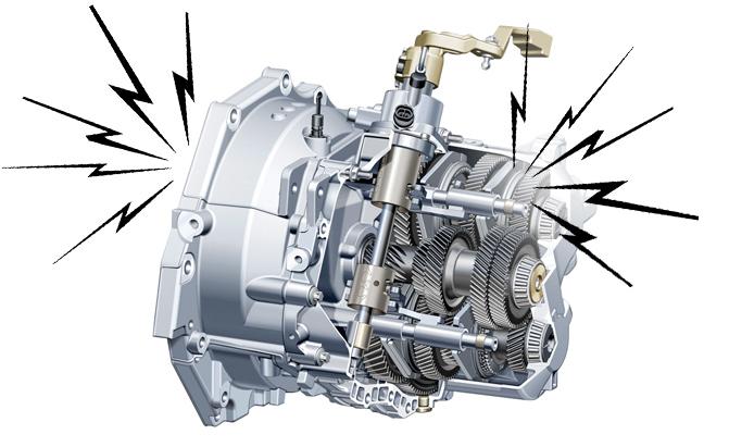 Пока коробка передач исправна, все эти шестерни вращаются почти бесшумно. | Фото: autoguide.com.