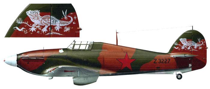 Ленд-лизовский истребитель Hawker Hurricane Mk.IIb из 769-го истребительного авиаполка ПВО. Карелия, 1942 год. | Фото: wp.scn.ru.