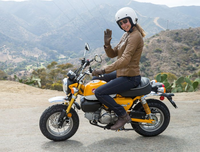 Крохотный мокик Honda Monkey получил весьма нескромный 125-кубовый двигатель. | Фото: ridermagazine.com.
