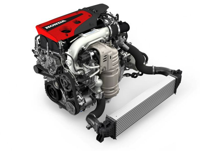 2,0-литровая рядная «четверка», которая стоит на Honda Civic Type R. | Фото: jalopnik.com.
