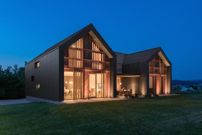 Архитекторский проект фирмы Sono Arhitekti.