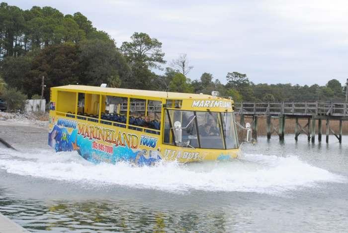 Автобус-амфибия Hydra-Terra. | Фото: newatlas.com.