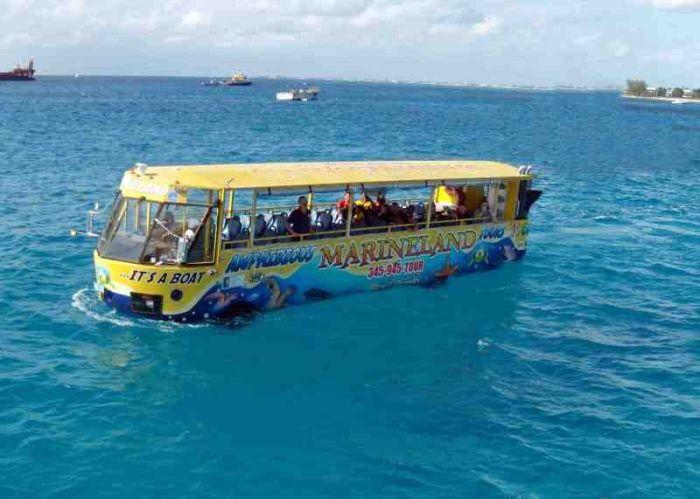 Прогулочный автобус-амфибия Hydra-Terra. |<br> Фото: enki.ua.