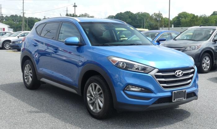 Hyundai Tucson третьего поколения выпускается с 2015 года. | Фото: saffordcdjrofsalisbury.com.