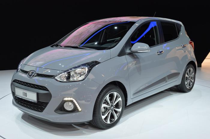 В этом году Hyundai i10 второго поколения сменяет новая версия. | Фото: auto.bigmir.net.