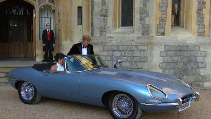 Электромобиль Jaguar E-Type Concept Zero внешне полностью повторяет модель 50-летней давности. | Фото: thesun.co.uk.