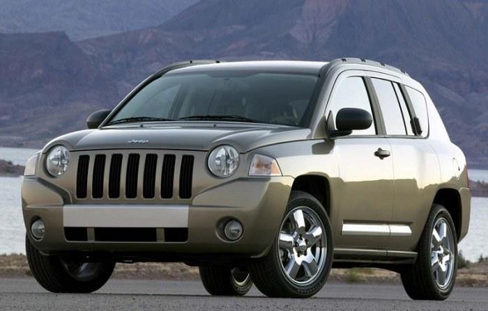 Компактный кроссовер Jeep Compass 2006 года. | Фото: cheatsheet.com.