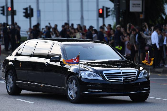 Официальный автомобиль лидера Северной Кореи Ким Чен Ына. | Фото: cheatsheet.com.