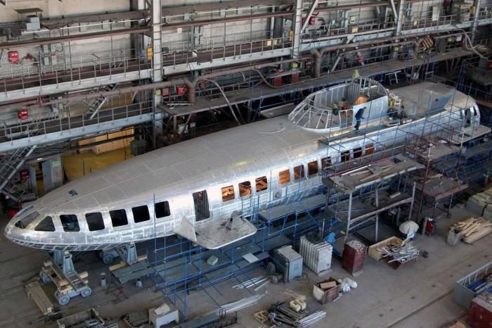 Первые экземпляры «Комет 120М» уже строятся на заводе «Вымпел». | Фото: liveinternet.ru.