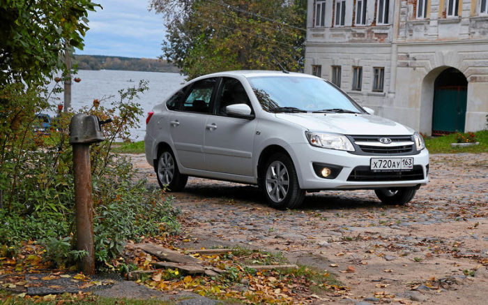 Седаны LADA Granta выпускаются с 2011 года. | Фото: zr.ru.