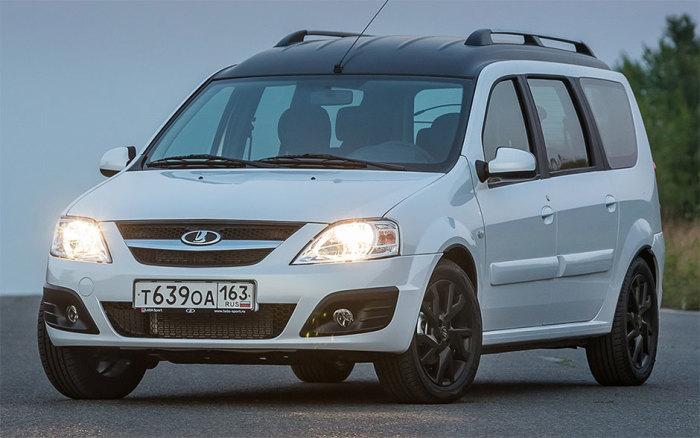 LADA Largus - самый популярный универсал в России. | Фото: topruscar.ru.
