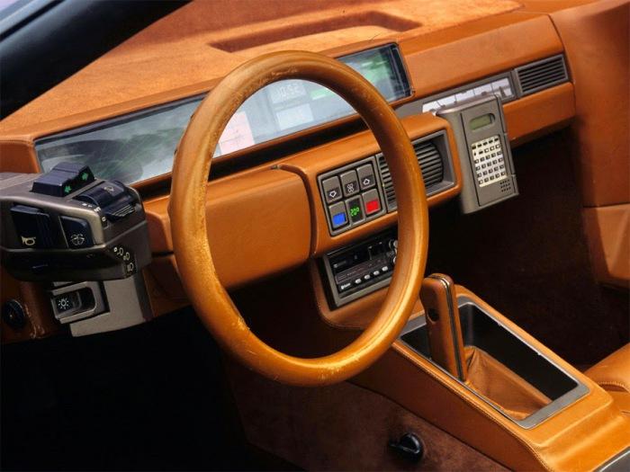 Приборная панель итальянского концепт-кара Lamborghini Athon.