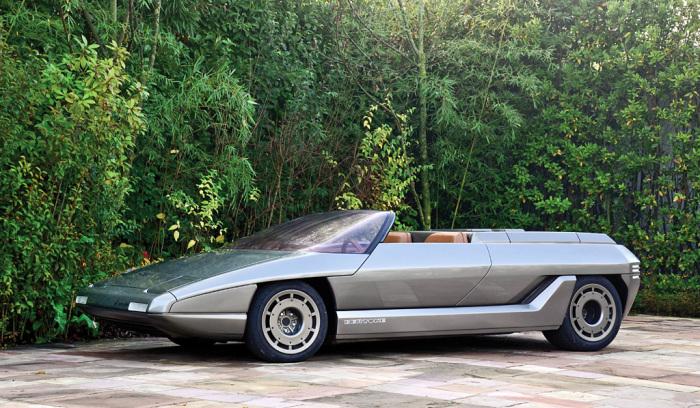 Родстер Lamborghini Athon с дизайном от Bertone.