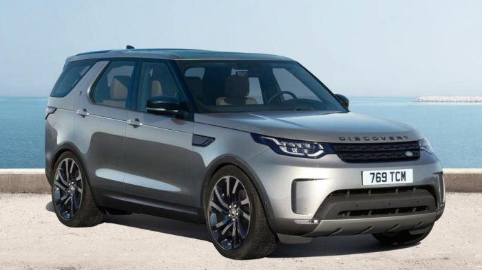 Британский кроссовер Land Rover Discovery четвертого поколения. | Фото: cheatsheet.com.
