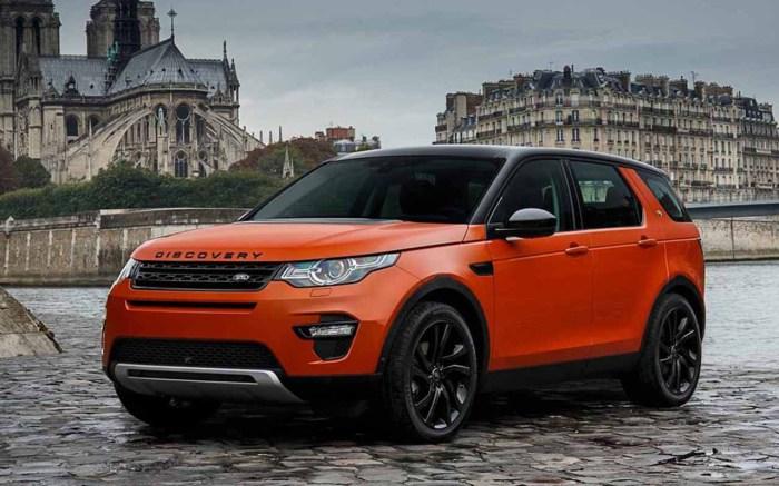 Компактная спортивнаяверсия большого внедорожника Land Rover Discovery.