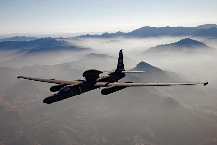 Полет Lockheed U-2 обычно проходит на большой высоте. | Фото: theaviationist.com.