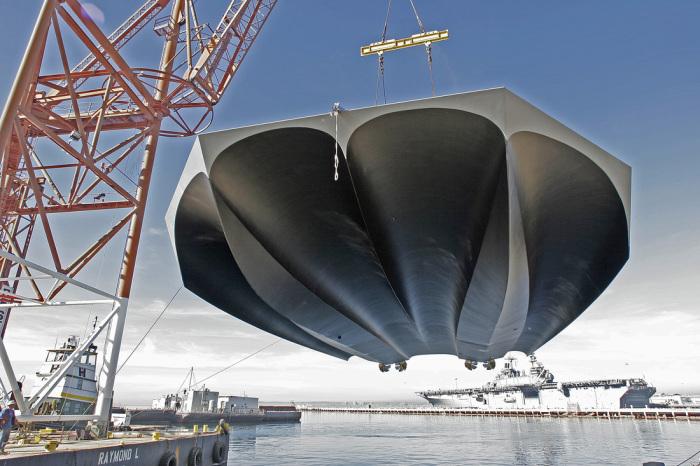 Уникальная конструкция корпуса М-80 выглядит так, словно это нечто с другой планеты.