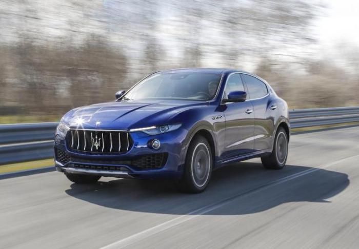 Первый «джип» от Maserati.
