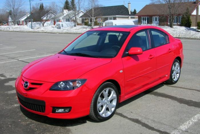 Mazda3 первого - японский седан первого поколения (2003-2008 г.в.)