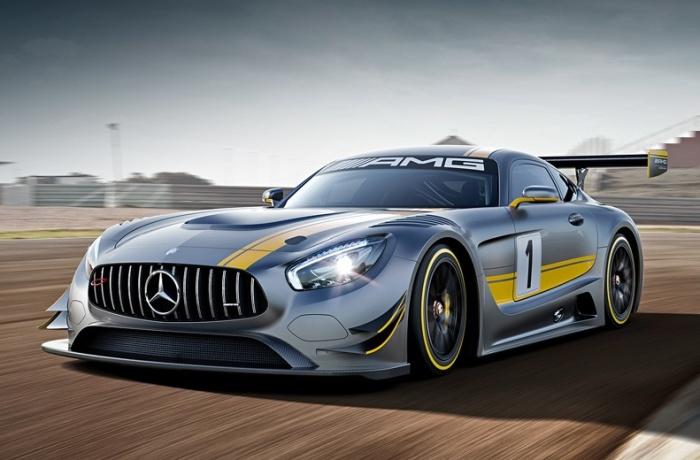 Mercedes-AMG GT3 создан специально для гонок.