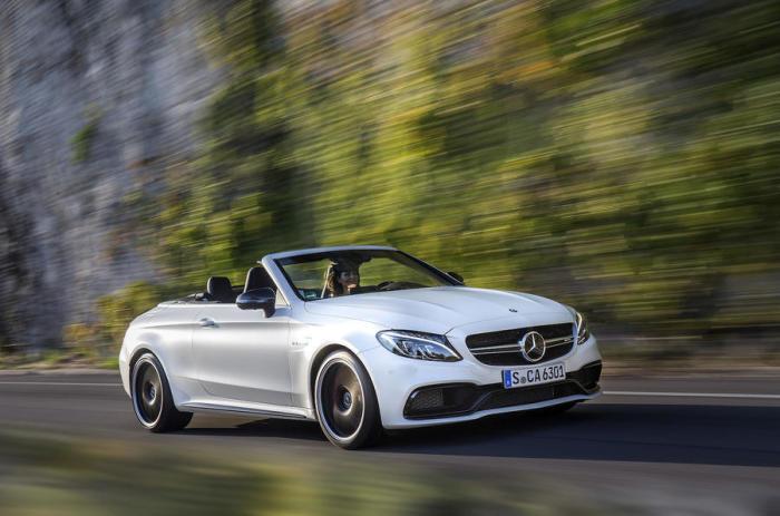 Немецкий кабриолет Mercedes-AMG C63 S. | Фото: autocar.co.uk.