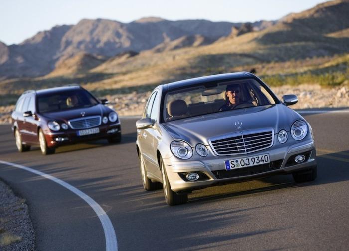 Mercedes-Benz E-Class в кузове W211 выпускался с 2002 по 2009 гг.   Фото: cheatsheet.com.