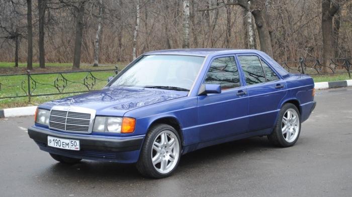 Mercedes-Benz 190 – самый маленький «Мерседес» 1980-х годов. | Фото: drive2.ru.