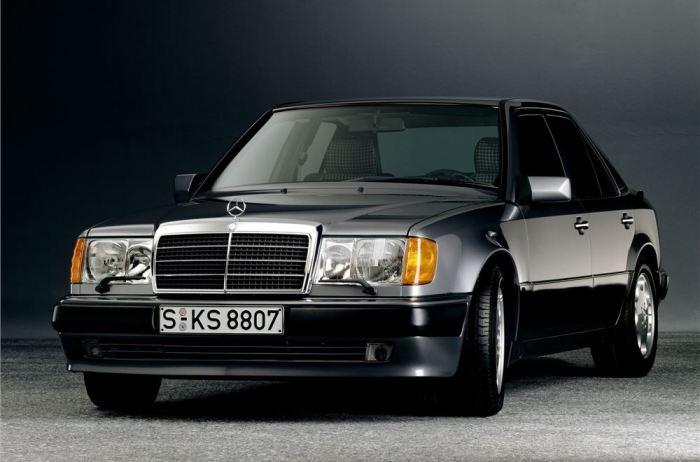 «Волчок» - Mercedes-Benz W124 с 5-литровым двигателем. | Фото: classics.honestjohn.co.uk.